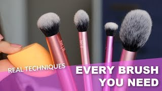 The Best Makeup Brushes from Real Techniques | Bailey B.