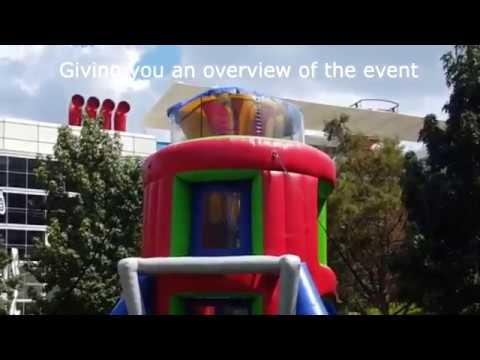 houston party rental interactive games airborne adventure