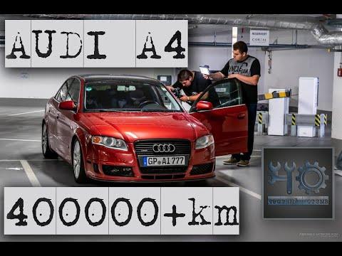 ЧО - AUDI A4 400 000 + км на тюнинге