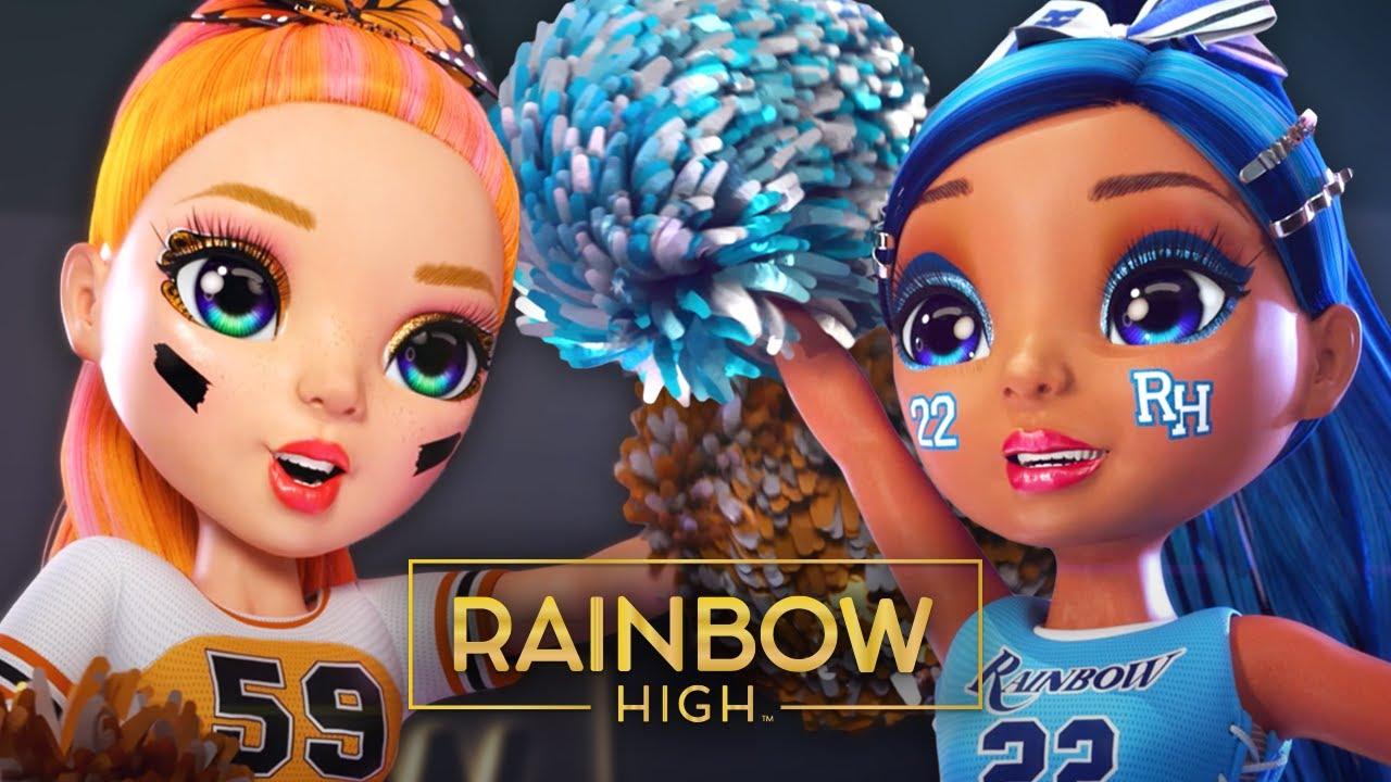 "Download Rainbow High Cheer CHALLENGE! | Episode 10 ""Bring On Rainbow Cheer"" | Rainbow High"