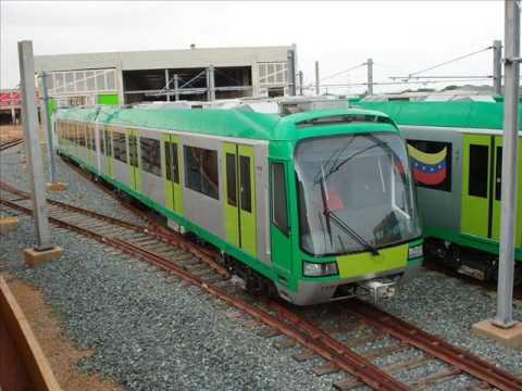 venezuela en construcion# 5 trenes y metros