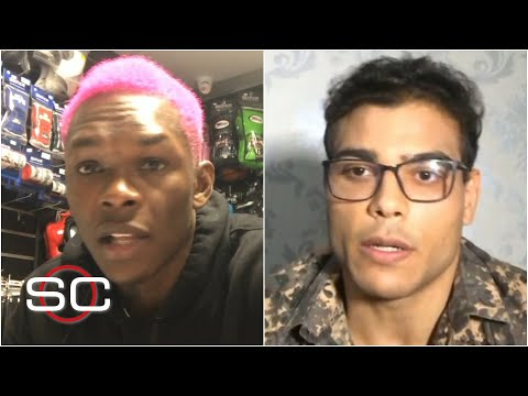 Israel Adesanya, Paulo Costa get HEATED in interview before UFC 253 fight | SportsCenter