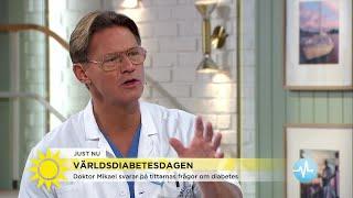 Får man diabetes av för mycket godis? Doktor Mikael svarar på tittarnas frågor - Nyhetsmorgon (TV4)