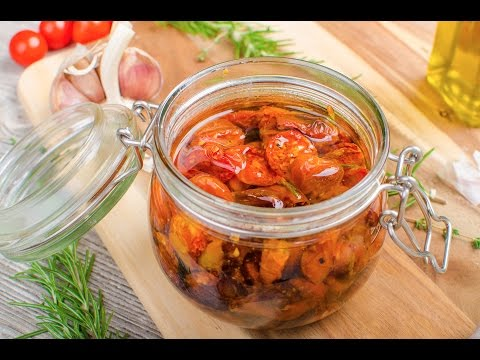 How to sun dried tomatoes SIMPLE!
