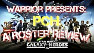 Roster Review:  PCH from Suit and Tie Pilots  Star Wars Galaxy of Heroes
