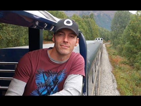 MOST BEAUTIFUL TRAIN RIDE - [Living In Alaska 201]