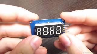 Подключение дисплея TM1637 к Arduino