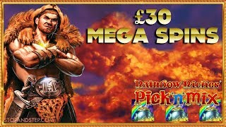 Hercules High and Mighty ** £30 Mega Spins ** Rainbow Riches POTS!!!