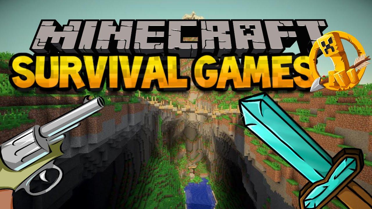 minecraft survival games with guns