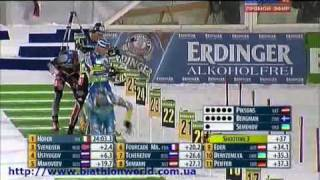 Биатлон. Чемпионат мира-2011. Масс старт (мужчины)