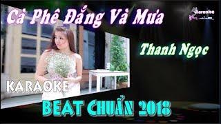 Cà Phê Đắng Và Mưa (Thanh Ngọc) - Karaoke minhvu822    Beat Chuẩn 🎤