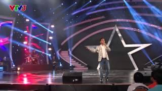 """Vietnam's Got Talent 2014: Vòng bán kết 2 - Hồ Văn Thái hát """"Đốt chút lá khô"""" [FULL HD]"""