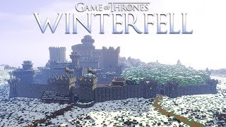 Minecraft Game of Thrones - Winterfell