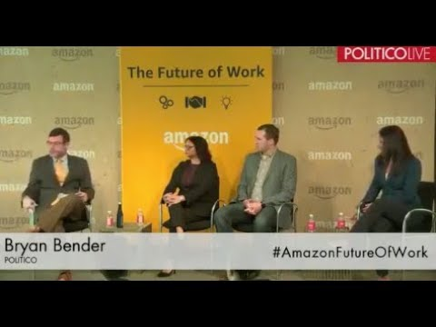 Melissa Bryant Discusses Veteran Employment at Amazon's Future of Work