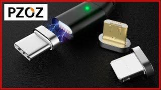 Pzoz МАГНИТНЫЙ КАБЕЛЬ micro USB С АЛИЭКСПРЕСС для зарядки и передачи данных