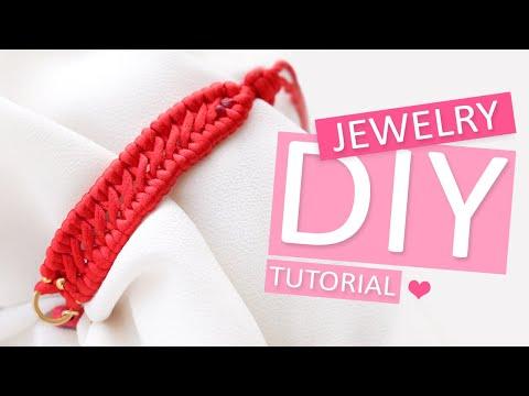 DIY Tutorial – Crossed sennit macramé knoop - Zelf sieraden maken