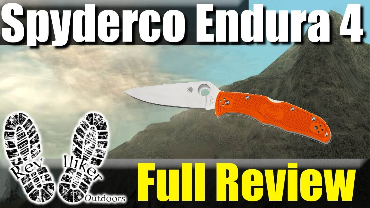 Spyderco Endura Full Review and Cut Test #KnifeThursday Ep 32