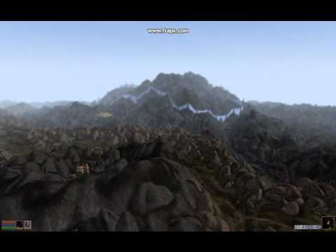 Morrowind Graphics Extender - Distant Land