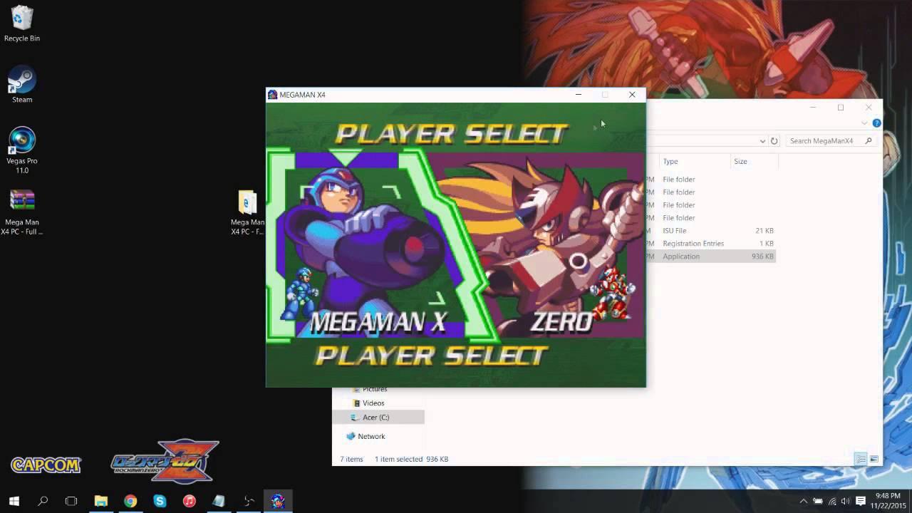 Mega Man X4 PC FULL INSTALL (Audio + Video