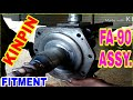 Who to kinpin repair for FA-90 axle ashok leyland