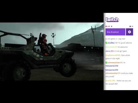 Halo Reach Legendary Full Game Livestream