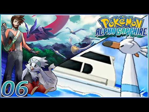 """Pokemon Omega Ruby & Alpha Sapphire [ORAS FaceCam] Let's Play #06 """"FLOAT STONE PARTIES!"""""""