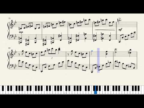 Castlevania Symphony Of The Night : Dance Of Pales Piano Sheet