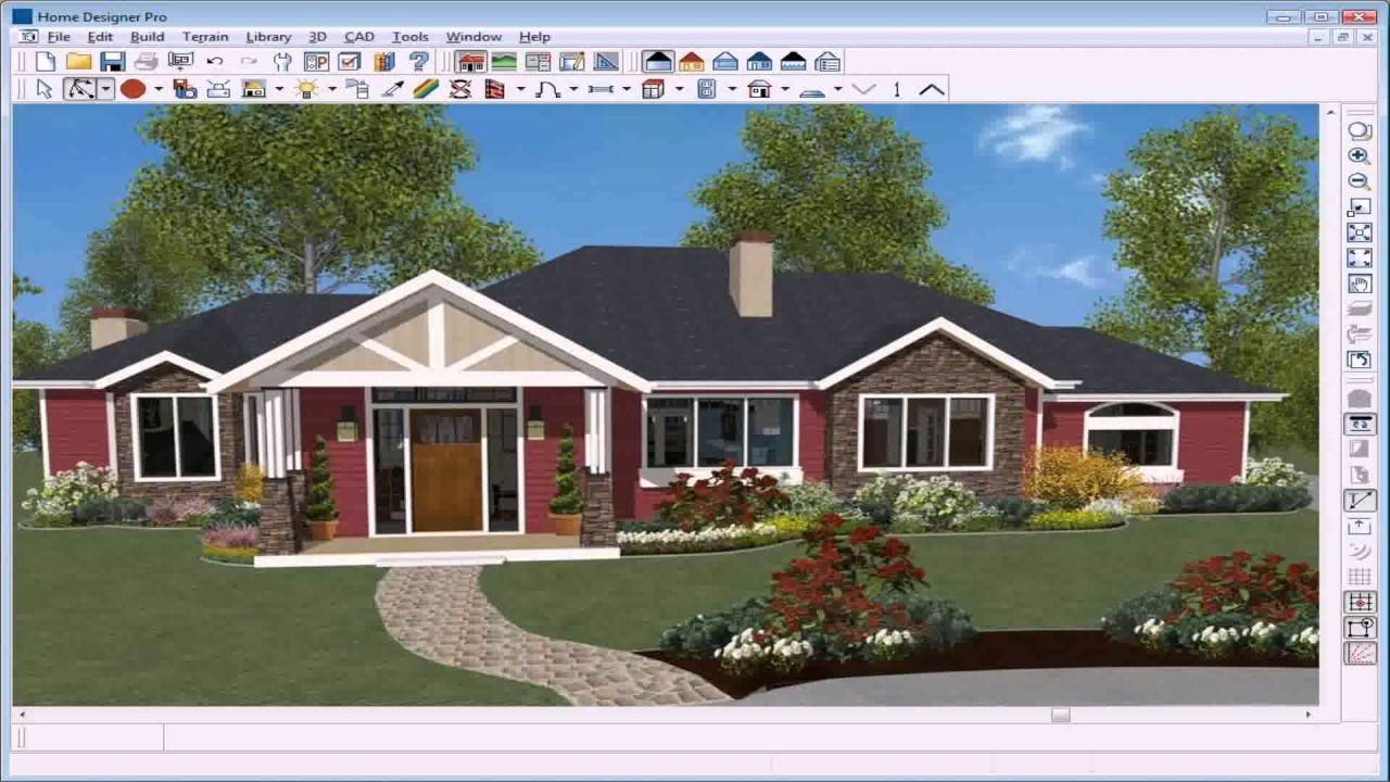home design software best exterior home design software for mac 12151