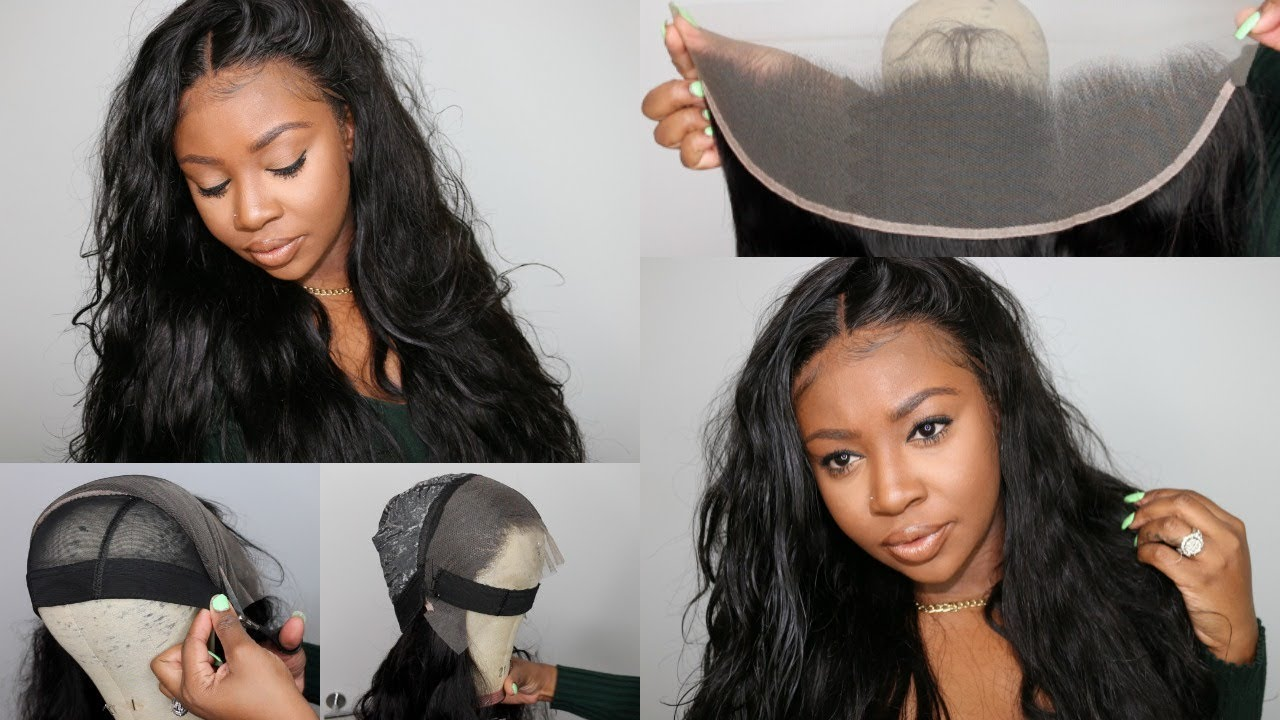 Huge Hair Giveaway Quick Weave Lace Wig Tutorial Hot Glue