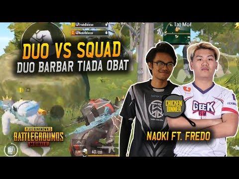 Duo Barbar Clean Up Sanhok | Naoki Ft. Fredo | Naoki Best Gameplay PUBG Mobile