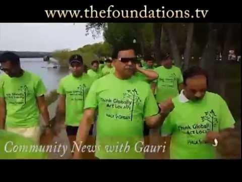 BAPS Charities Walk Green 2016