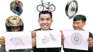PHD | Thử Thách Vẽ Và Chạy Ai Thắng Nhận 1000$ | Draw And Run, Winning Challenges Get 1000$