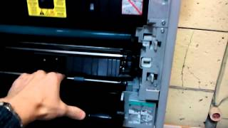 Repairs Canon iR-2016 iR2018 iR2020 iR2022 does not pull paper from the bottom of the tray