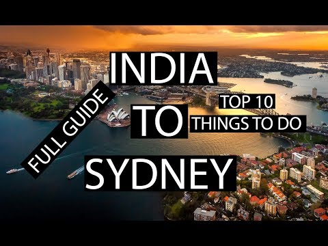 India To SYDNEY | Cheapest Budget | Full Info | Lets Travel