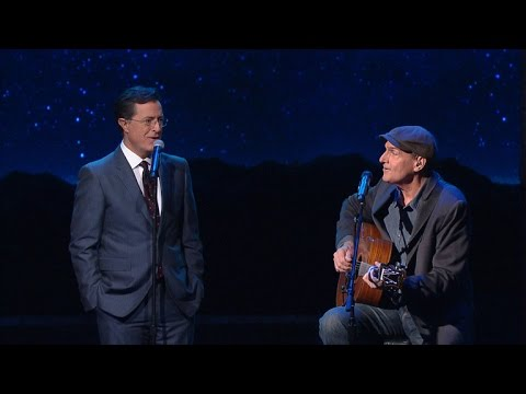 James Taylor and Stephen Duet On