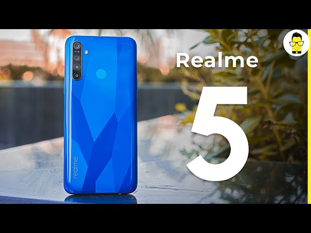 Realme 5 unboxing, hands-on review, and camera samples