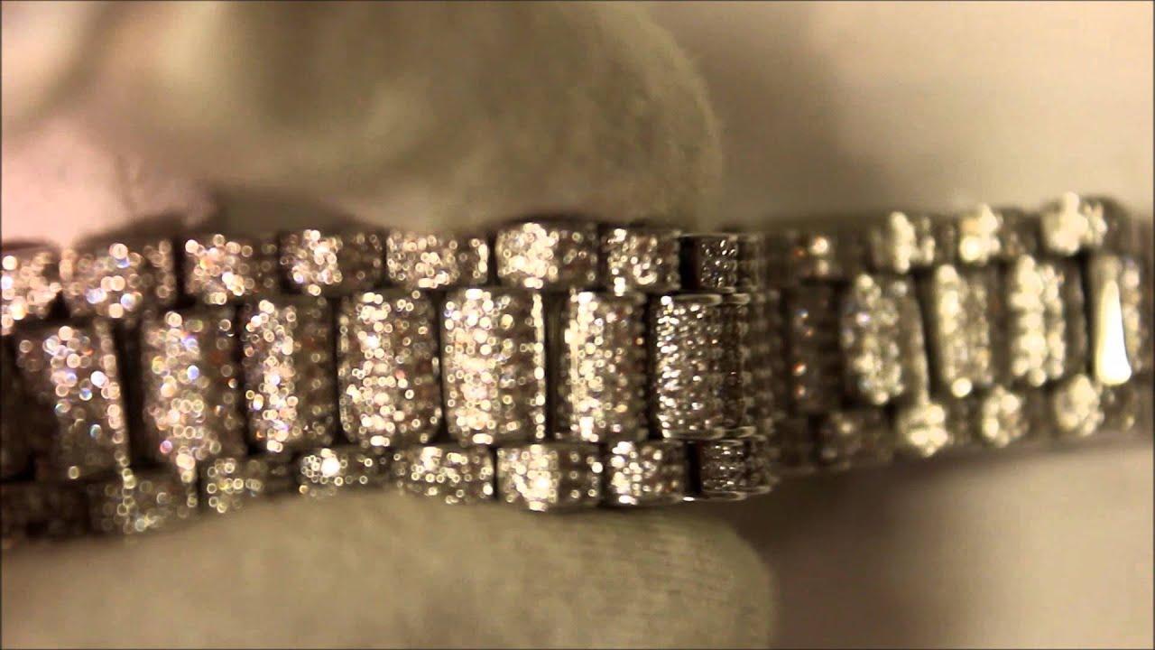 lab made rolex style bracelet youtube