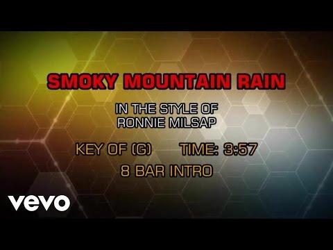 Ronnie Milsap - Smoky Mountain Rain (Karaoke)