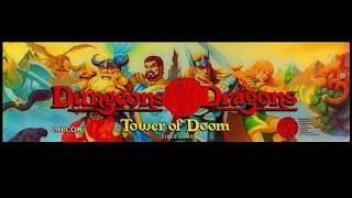 Dungeons & Dragons: Tower of Doom (Arcade PC) Cinemassacre Plays