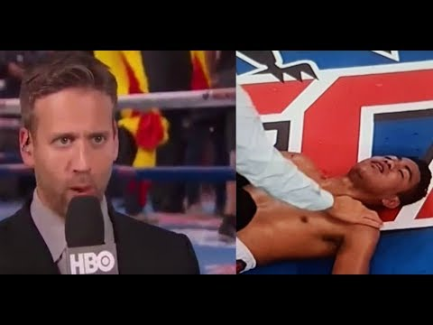 "Max Kellerman Reacts To Roman Gonzalez KO Defeat: ""He Looked Like A Shot Fighter"""