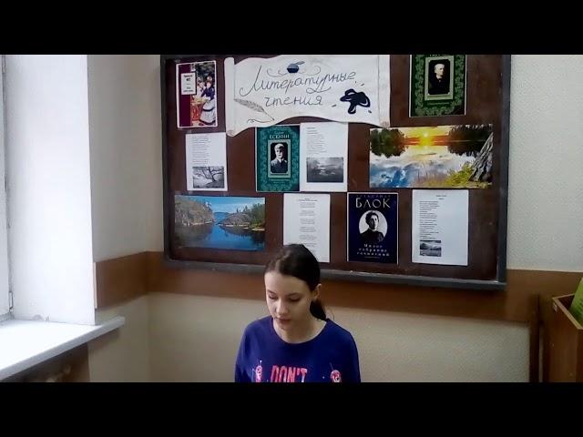 Изображение предпросмотра прочтения – ЕлизаветаСизова читает произведение «Гонимы вешними лучами» А.С.Пушкина