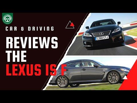 LEXUS ISF 2011 FULL REVIEW - CAR & DRIVING