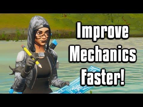 Improve Your Mechanics & Learn New Techniques FASTER! - Fortnite Battle Royale