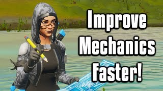 Improve Your Mechanics & Learn New Techniques FASTER! - Fortnite Battle Royale