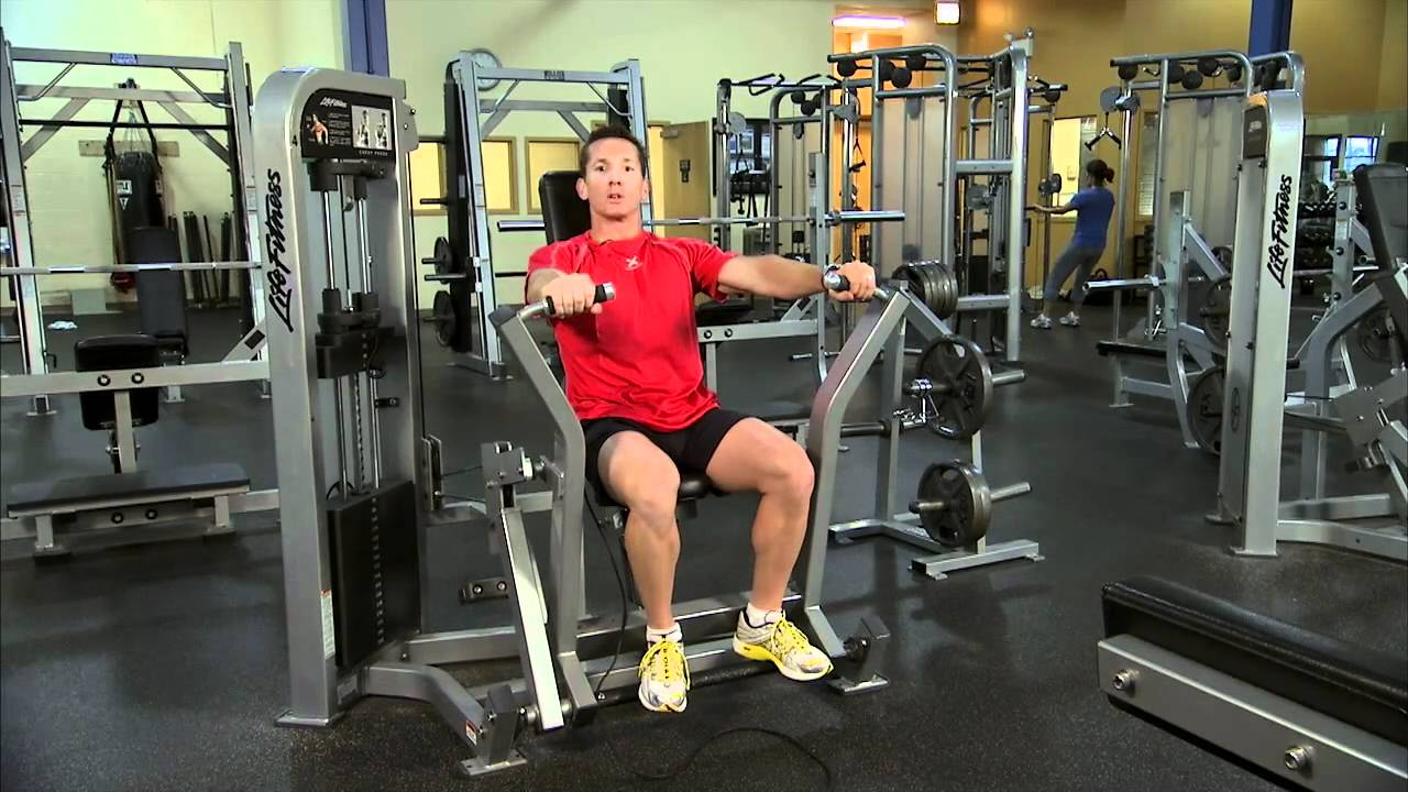 Life Fitness Pro2 Chest Press Instructions Youtube
