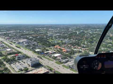Mit einem Hubschrauber über Fort Myers