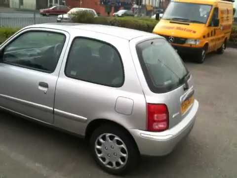 nissan micra 2002 youtube. Black Bedroom Furniture Sets. Home Design Ideas