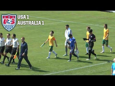 U-17 MNT vs. Australia: Highglights - Sept. 2, 2015