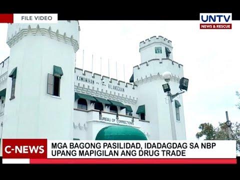 Mga bagong pasilidad, idadagdag sa NBP upang mapigilan ang drug trade