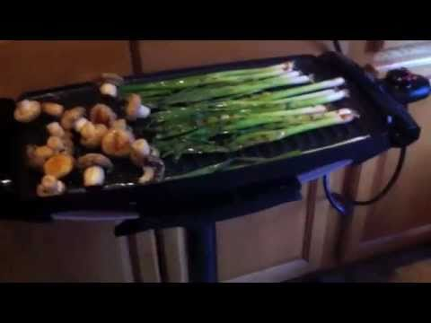 chef celly recommends the george foreman home grill and the qvc